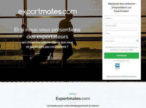 Exportation collaborative : exportmates veut devenir un « hub de l'export » pour les PME