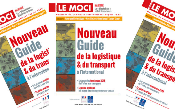 Nouvelle parution : Le nouveau Guide de la logistique & du transport à l'international du Moci