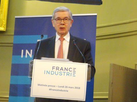 Philippe Varin, président de France Industrie