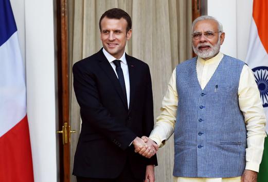France / Inde : E. Macron relance le partenariat stratégique et accélère la coopération