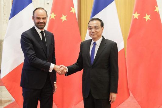 France / Chine : É. Philippe récolte les premiers fruits de la visite présidentielle