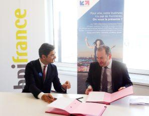 renouvellement de la conventiion Business France Bpifrance