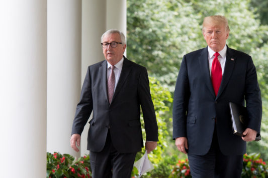 Rencontre Juncker-Trump, le 25 juillet, à Washington