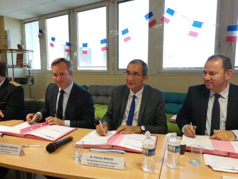 Régions / Export : Bourgogne-Franche-Comté signe une convention-cadre avec Business France