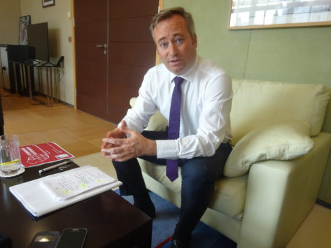 Commerce extérieur: pour JB Lemoyne «les réformes commencent à porter leurs fruits»