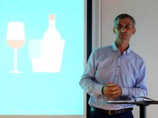 François Collache, directeur Vins et spiritueux de Sopexa, présentaition du Wine Trade Monitor, le 19 septembre 2018
