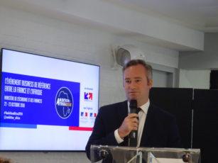 Jean-Baptiste Lemoyne, secrétaire d'Etat à l'Europe et aux affaires européennes