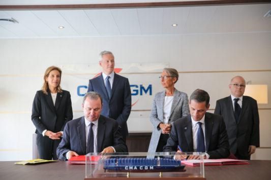 Accompagnement / Export : CMA CGM signe avec Business France pour les start-up et PME