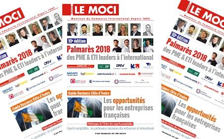 Palmarès 2018 des PME & ETI leaders à l'international – 10ème édition / Guide Business Côte d'Ivoire