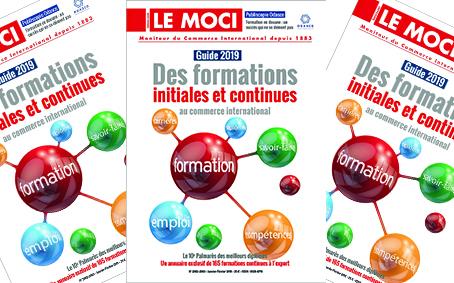 Guide 2019 des formations initiales et continues au commerce international (Le Moci)