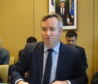 Jean-Baptiste Lemoyne, présentation des chiffres du commerce extérieur 2018
