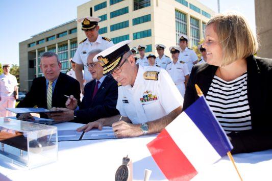 France / Australie : Naval Group s'engage pour un partenariat stratégique de 50 ans