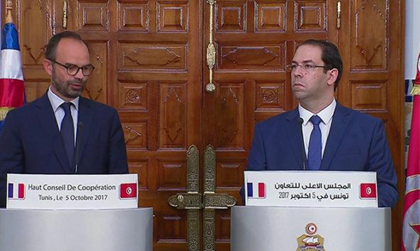 France / Tunisie : les accords signés durant la visite du Premier ministre Y. Chahed