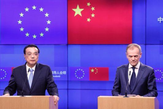 Sommet UE / Chine : accord in extremis sur une déclaration commune