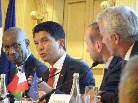 Madagascar / Export : à Paris, A. Rajoelina relance l'intérêt des entreprises françaises