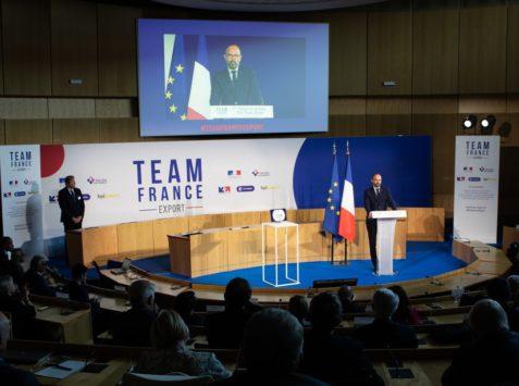 Commerce extérieur : E. Philippe maintient la pression sur la Team France Export