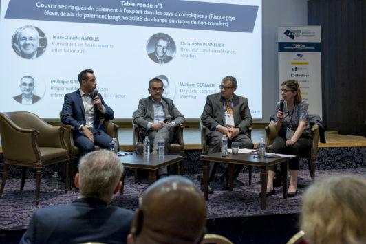 Forum Moci 2019 : face à la montée des risques export, les prestataires s'adaptent