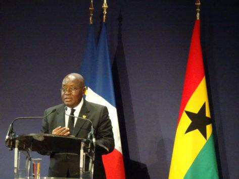 Ghana : N. Akufo-Addo veut plus d'investisseurs français