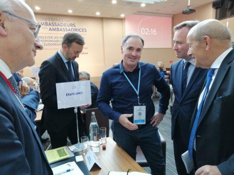 Diplomatie-entreprises : 400 entrepreneurs au « speed dating » avec les ambassadeurs
