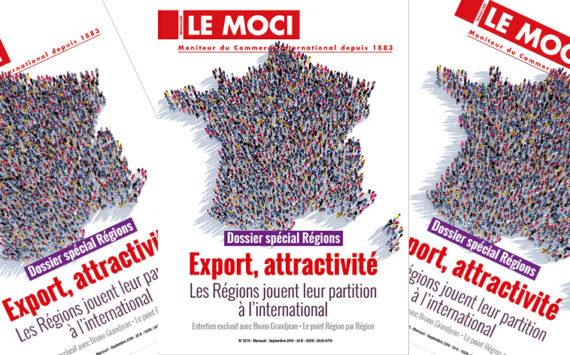 Dossier spécial Régions – Export, attractivité (Le Moci)
