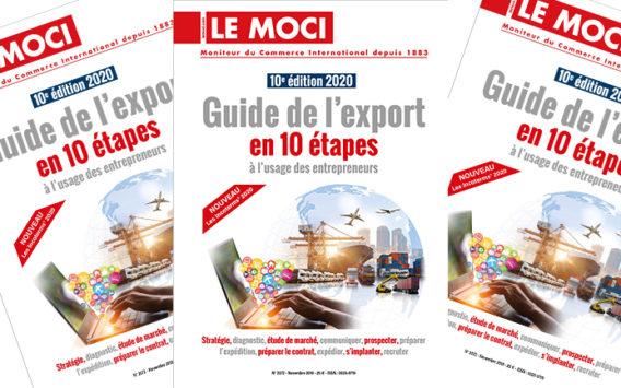 Guide de l'export en 10 étapes à l'usage des entrepreneurs – 10e édition 2020 (Le Moci)