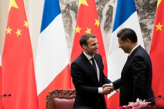 France / Chine: le président Macron joue la carte européenne