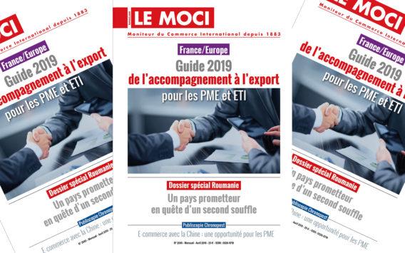 Guide 2019 de l'accompagnement à l'export pour les PME et ETI (Le Moci)