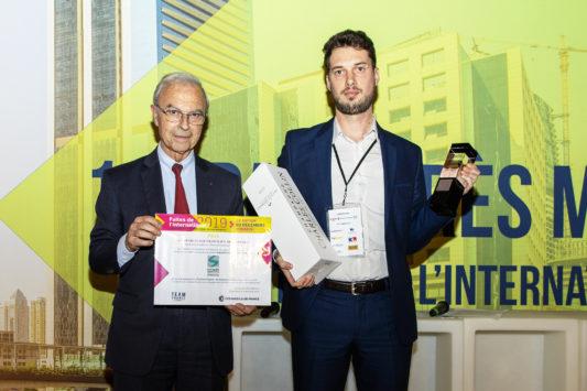 Palmarès MOCI 2019 : Socomate International, Exportateur francilien de l'année