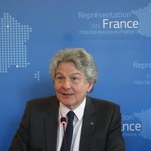 Thierry Breton, commissaire de l'UE, veut défendre l'Europe