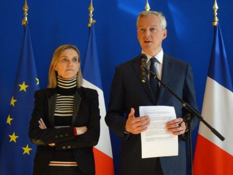 France / Coronavirus : Bercy annonce des mesures d'appui, expliquent Bruno Le Maire et Agnès Pannier-Runacher