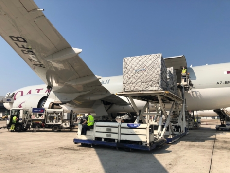 Transport aérien / Covid-19 : le trafic cargo à Paris-CDG s'envole