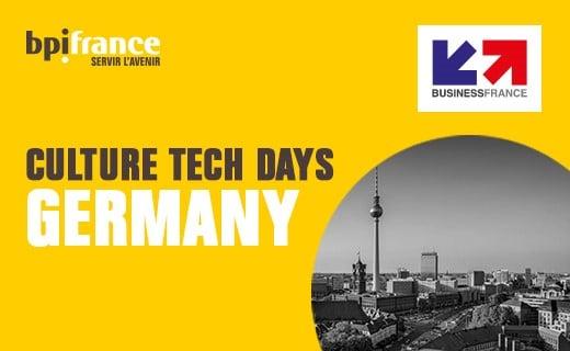Allemagne : des French Culture Tech Days pour promouvoir le musée à la française