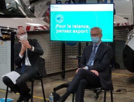 Commerce extérieur : F. Riester inaugure un 'Relance Export Tour' dans les Régions